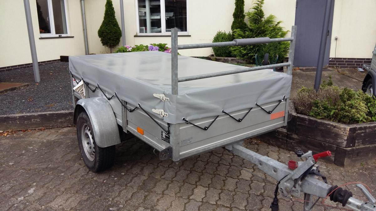 Anhängerplane für Leitergestell