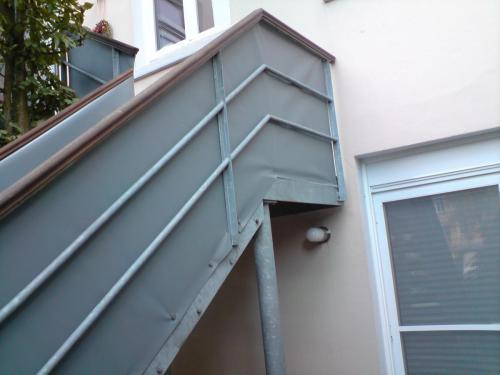 Einkleidung Treppengelände