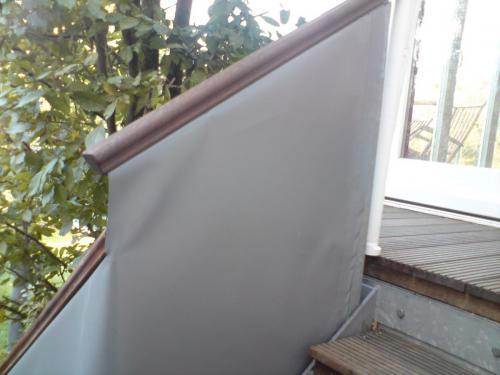 Einkleidung Treppengelände 2