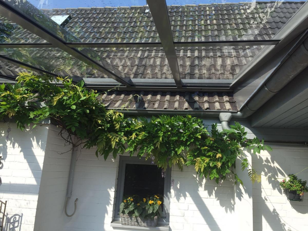 Terrassendach Aufdach Montage